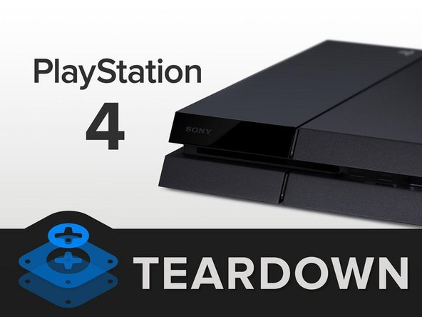 PlayStation 4 teardown banner