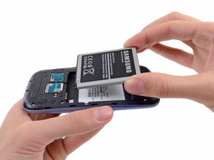 Installing Samsung Galaxy S III Battery