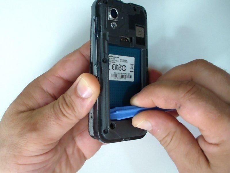 Замена сенсорного экрана на телефоне 5830 своими руками