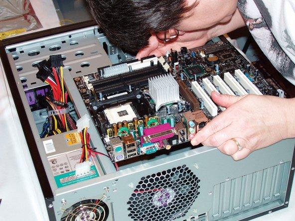 Материнская плата компьютер своими руками