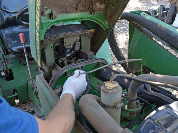 John Deere 870 Tractor Seat : Image