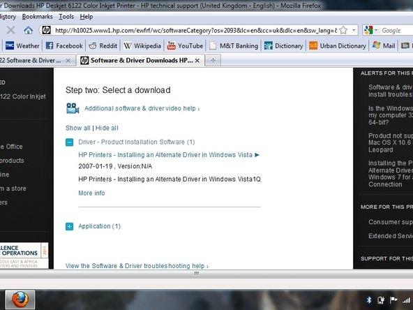 Hp Deskjet 6122 Drivers For Windows 7