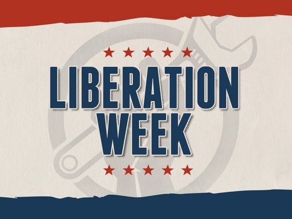iPhone Liberation week banner
