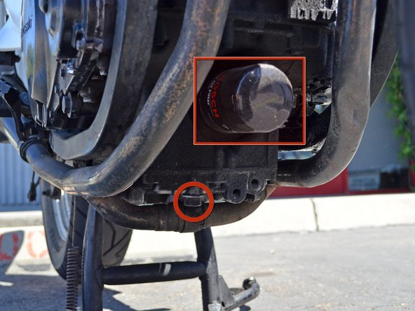 Kawasaki Motor Oil Filter