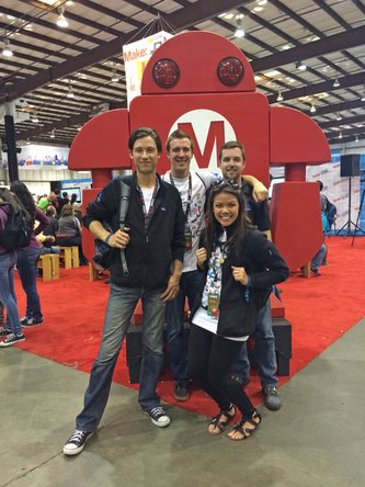 iFixit team at Maker Faire