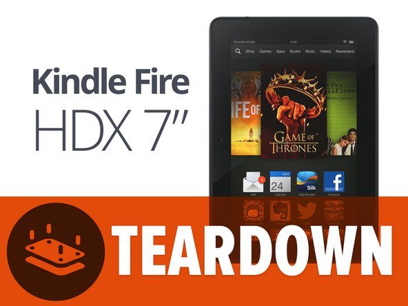 Kindle Fire HDX teardown banner