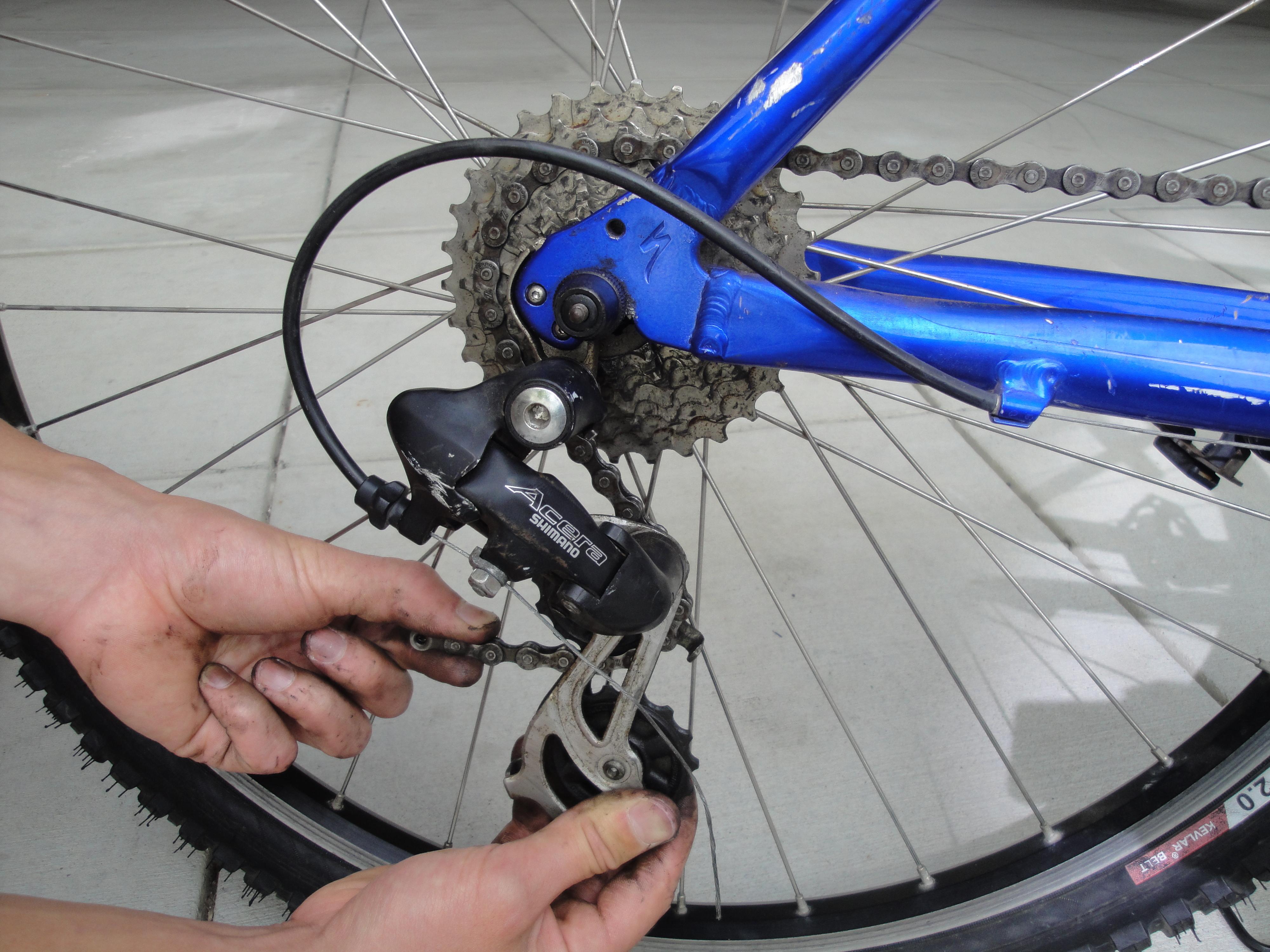 Ремонт велосипеда шимано своими руками