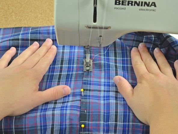 Clothing sewing repairs
