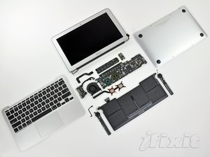 "MacBook Air 11"" Late 2010 Teardown"
