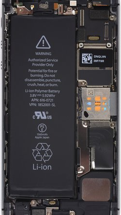 iPhone 5S internals wallpapers