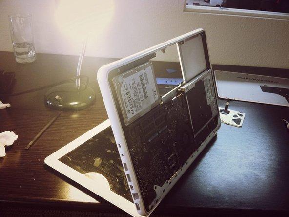 MacBook with broken trackpad
