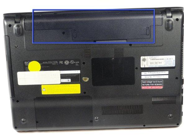 تعویض باتری لپتاپ 1
