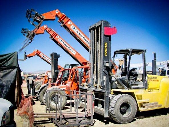 machine repair at Burning Man
