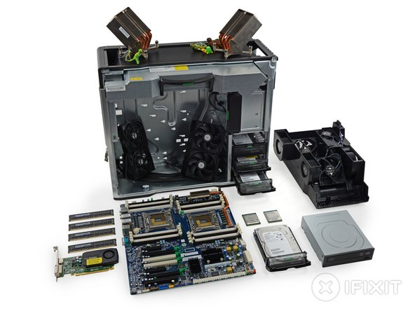 HP Z820 teardown