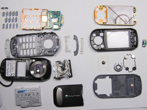 Sony Ericsson s710a Teardown