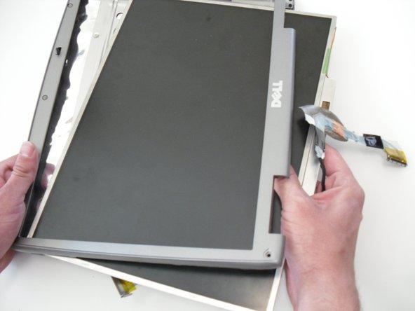 جدا سازی LCD لپتاپ از قاب 88