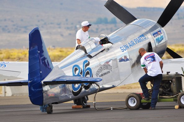 Airplane repair story at the Reno Air Races