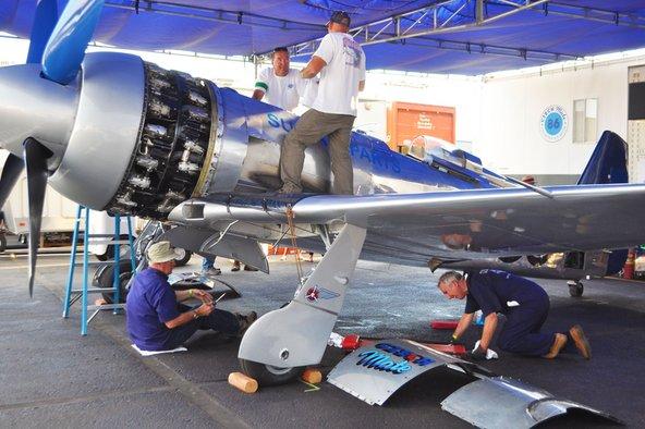 Repairing Czech Mate at Reno Air Races