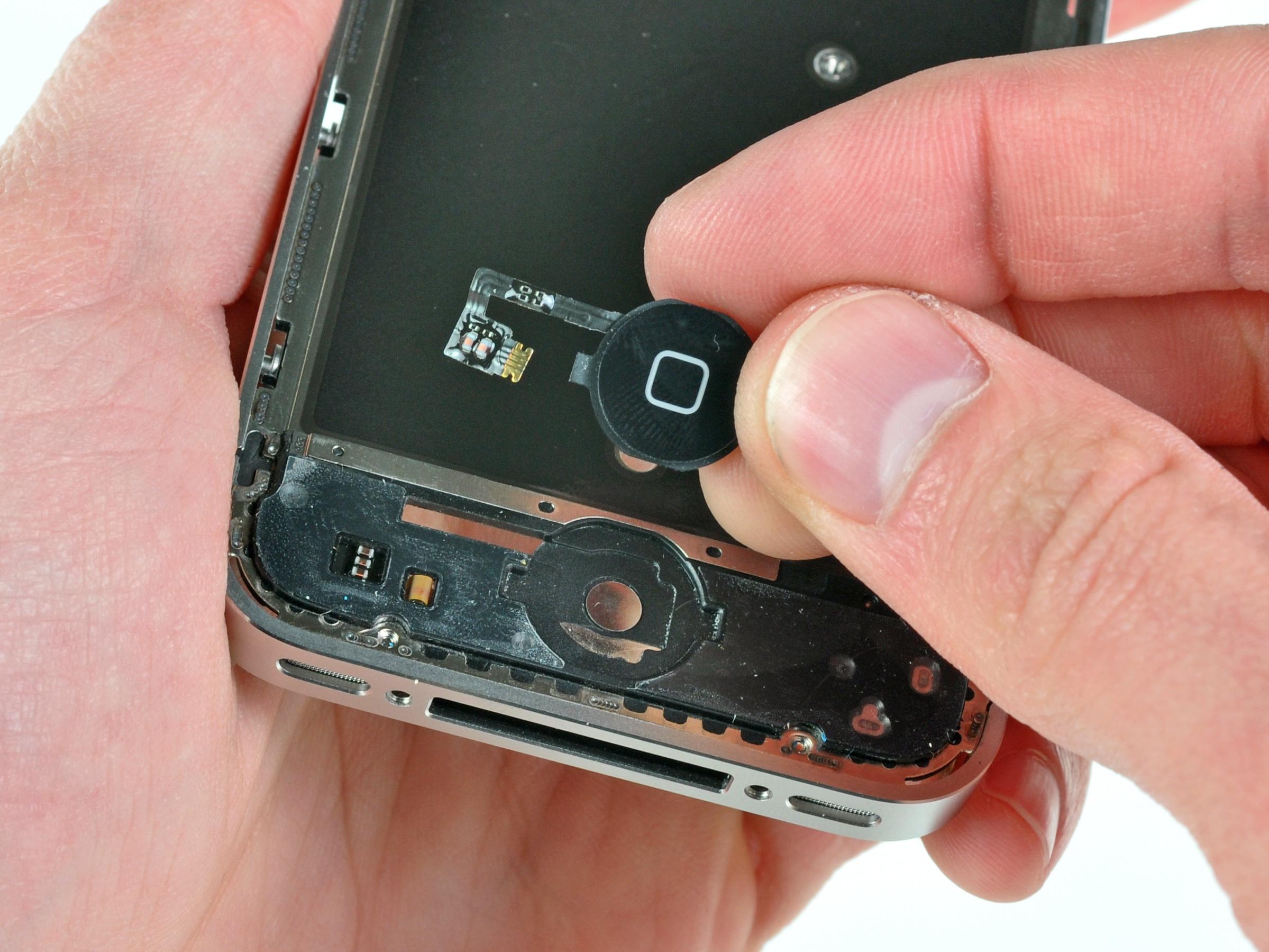 Замена кнопки ipad 4
