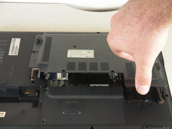جدا کردن RAM لپتاپ