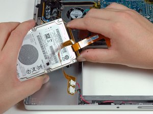 "MacBook Pro 15"" Core 2 Duo Model A1211 Hard Drive Replacement"