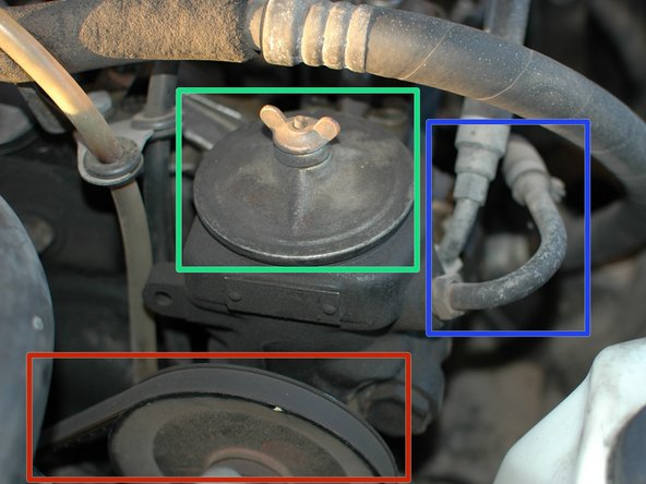 Checking power steering fluid in your mercedes w123 ifixit for Mercedes benz power steering fluid