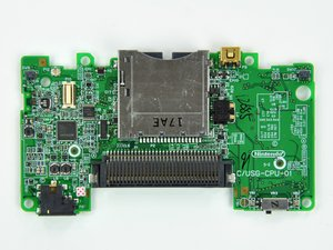 Installing Nintendo DS Lite Motherboard Replacement