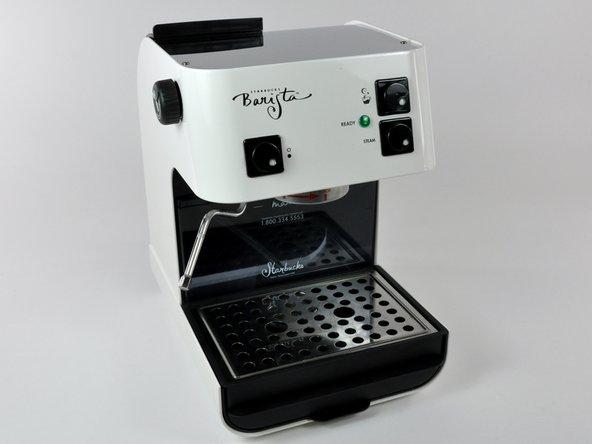 barista starbucks espresso machine
