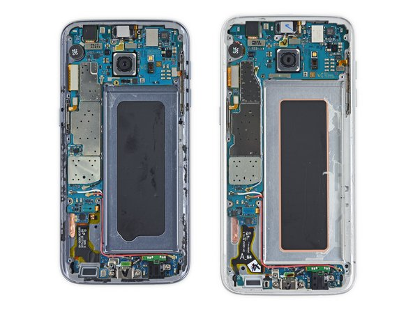 Image result for samsung galaxy s7 vs s7 edge components