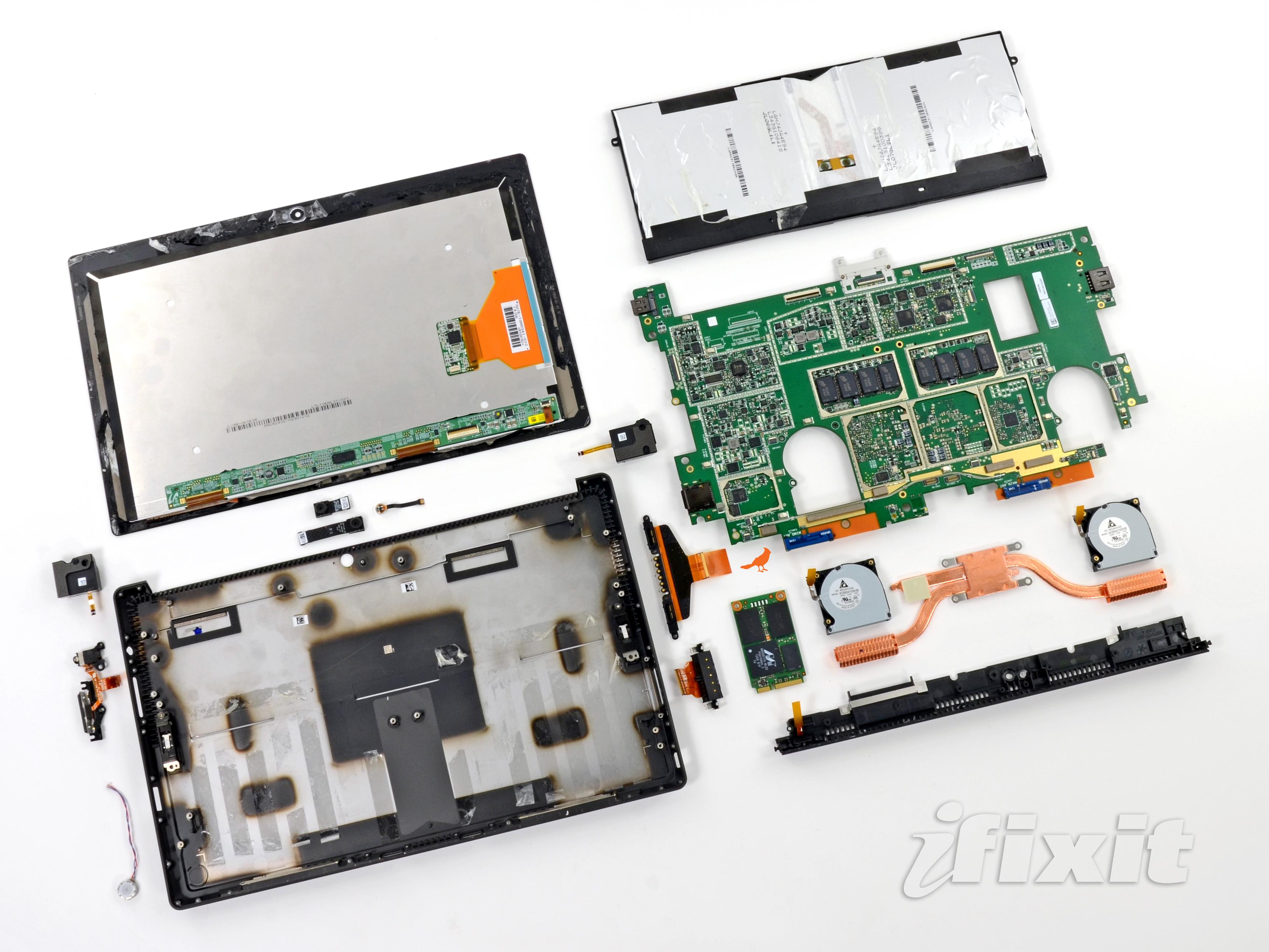Microsoft Surface Pro Teardown