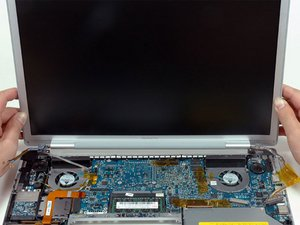 "Installing MacBook Pro 15"" Core 2 Duo Model A1211 Display Assembly"