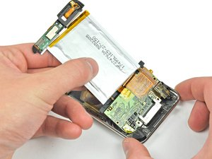 Installing iPod Touch 2nd Generation Logic Board