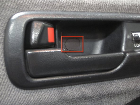 1994 2001 acura integra front speaker replacement ifixit - Acura integra exterior door handle ...