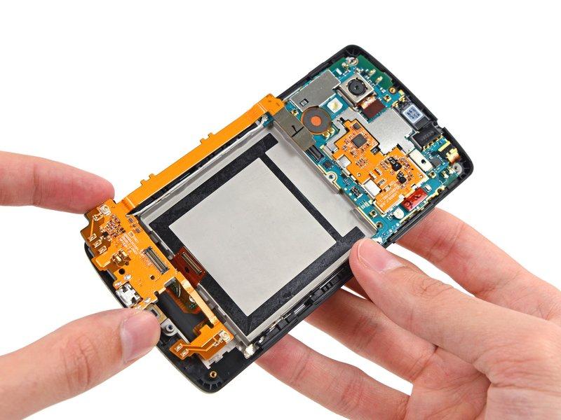 Замена батареи nexus 5