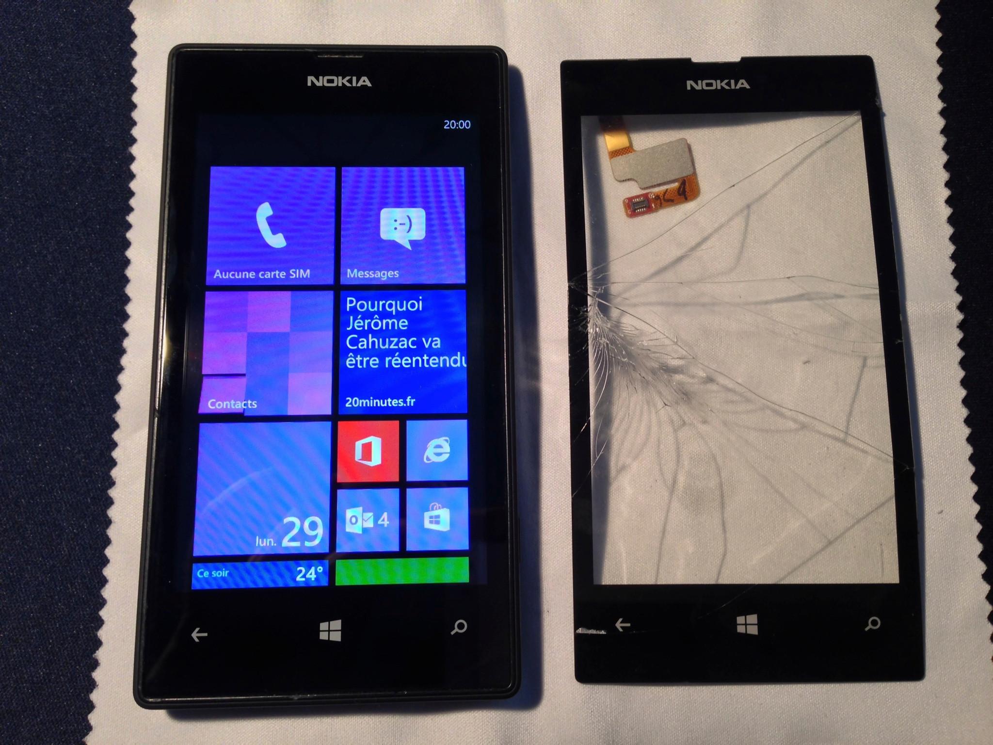Как сделать снимок экрана nokia lumia 520 128