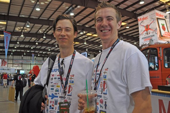 iFixit teardown engineers at Maker Faire