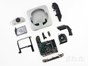Mac Mini Late 2012 Teardown