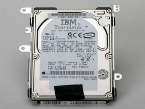 "iBook G3 14"" Hard Drive Replacement"