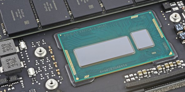 Haswell processor inside the MacBook Air