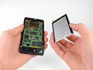 Installing Motorola Droid RAZR Battery