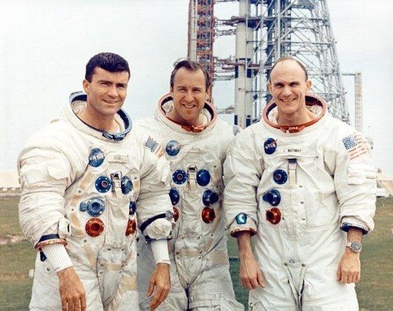 NASA Apollo 13 crew