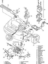 Mazda Protege Engine Diagram