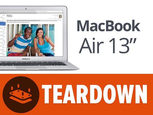 "Заглянем внутрь 13"" лэптопа MacBook Air образца середины 2013 года"