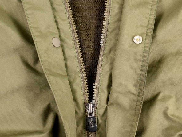 Zipper maintenance