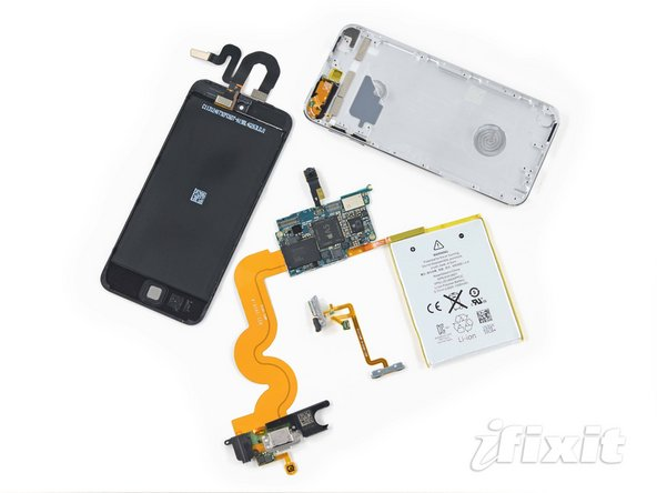 iPod touch 5th generation teardown