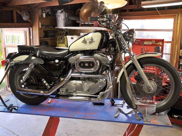 Harley Davidson Sportster Evolution Oil Change Ifixit