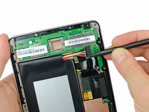 Installing Nexus 7 Battery