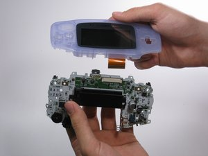 Installing Game Boy Advance Logic Board