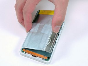 Installing iPod 1st Generation Battery