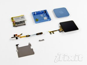 iPod Nano 6th Generation 2011 Teardown
